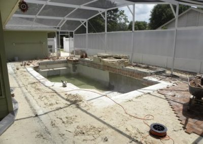Concrete Renovation Before
