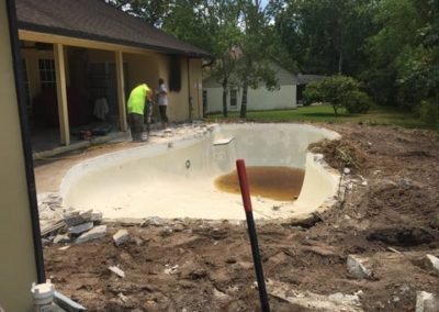 Concrete Renovation During